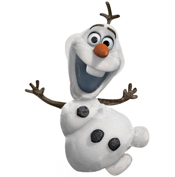 Folienballon-Stecker 'Frozen Olaf'