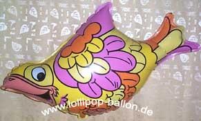 Folienballon 'Vogel', ca. 80 cm Ø, ohne Gasfüllung