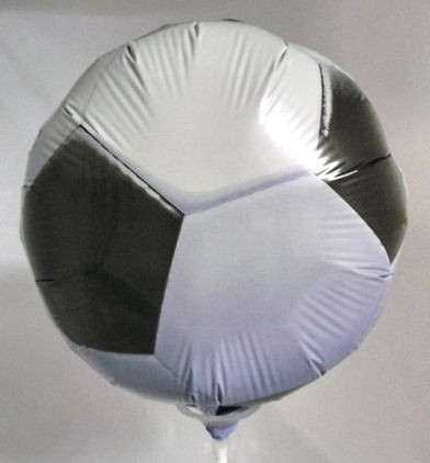 Folienballon-Stecker 'Soccerball / Fußball'