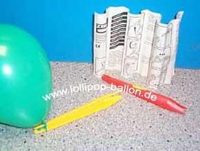 Ballon-Knoter / Knot-Hilfe