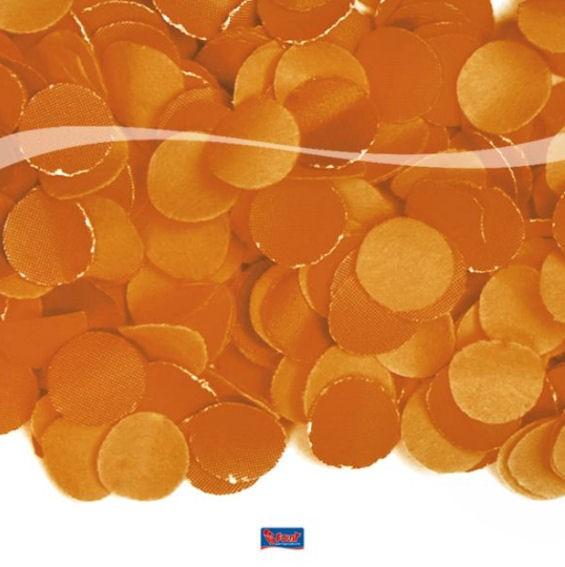 Konfetti Luxe, Papier, 100 g, orange *nicht Farbecht*