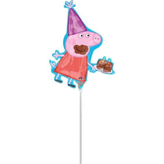Folienballon-Stecker 'Peppa Pig'