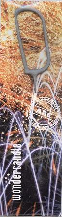 WONDERCANDLE Formen-Wunderkerze 'D'