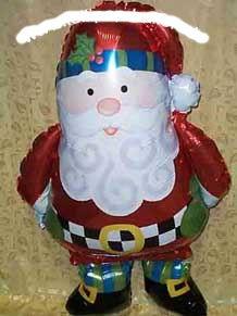 AirWalker, Folienballon (i) 'Whimsical Santa' ca. 94 cm