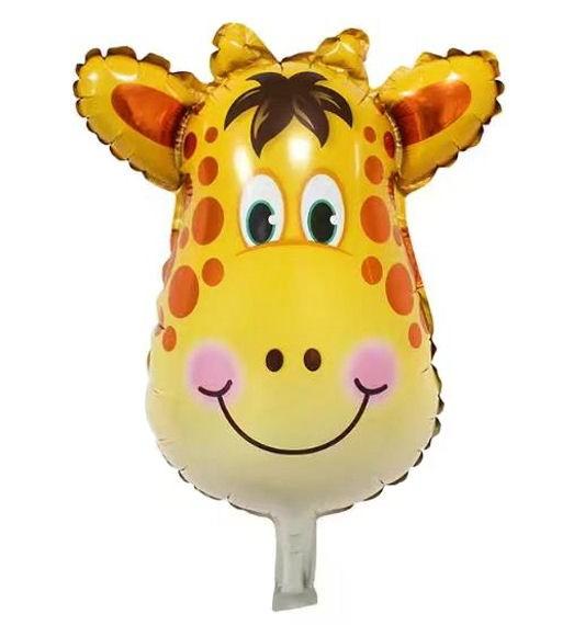 Mini-Folien-LUFTballon 'Giraffen-Kopf'