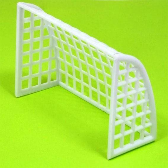 Tortenfigur 'Fußballtor' PVC, ca. 10 x 7x 4 cm