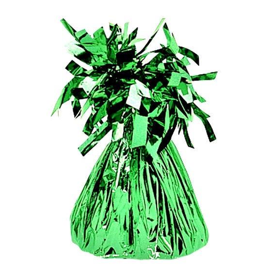 Großes Ballongewicht 'Folie' ca. +140 gr., grün