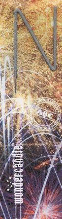 WONDERCANDLE Formen-Wunderkerze 'N'