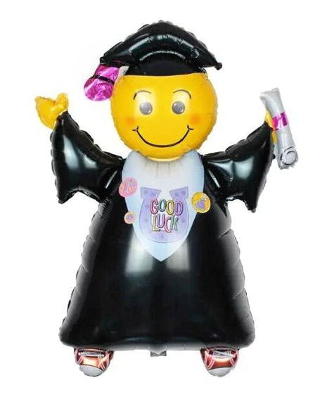 Mini-Folien-LUFTballon 'Absolvent/Graduation - Good Luck'