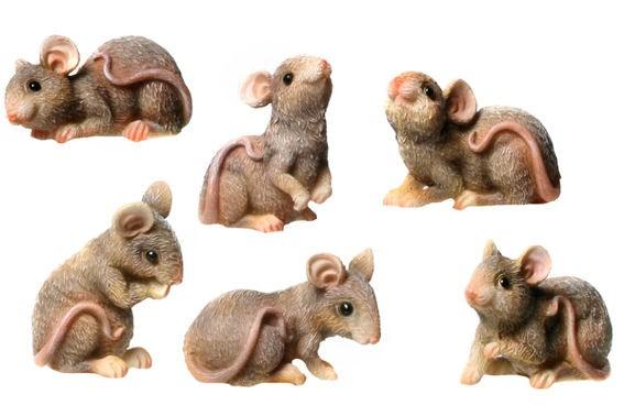'Maus / Mäuse', Polyresin, verschiedene Ausführungen