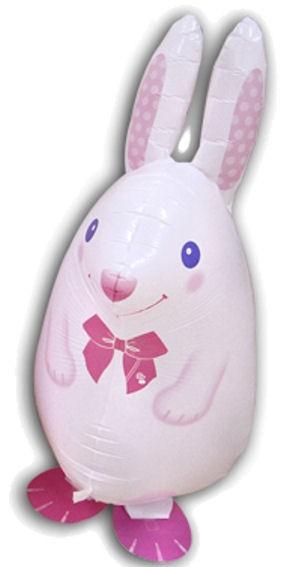 AirWalker, Folienballon (C) 'Rabbit', verschiedene Farben, ca. 60 cm