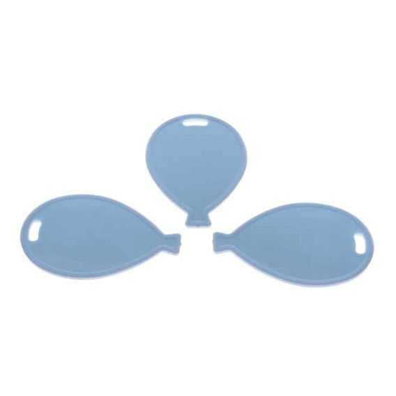Kleines Ballongewicht 'Ballon', ca. 9 gr. schwer, hellblau
