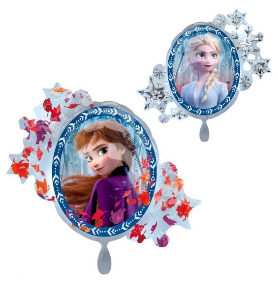 Folienballon 'Frozen 2 - Satin', ca. 76 cm Ø