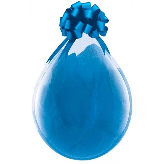 'neutral - ohne Motiv' Latex-Weithalsrundballon / Stufferballoon / Verpack.-Ball