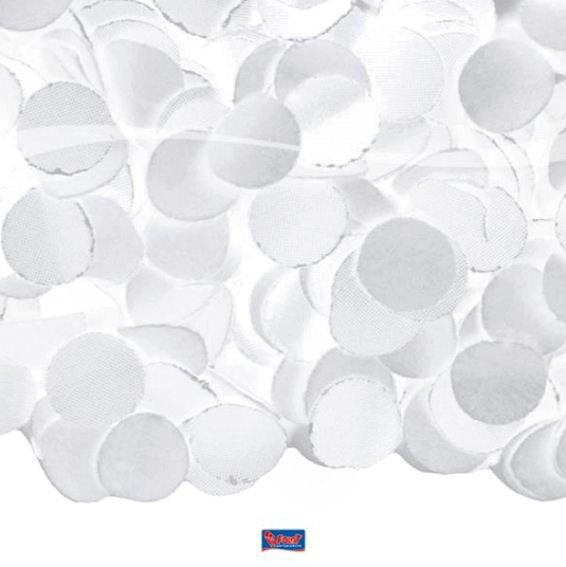 Konfetti Luxe, Papier, 100 g, weiß *nicht Farbecht*