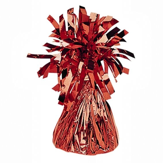 Großes Ballongewicht 'Folie' ca. +140 gr., rot