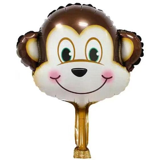 Mini-Folien-LUFTballon 'Affen-Kopf'