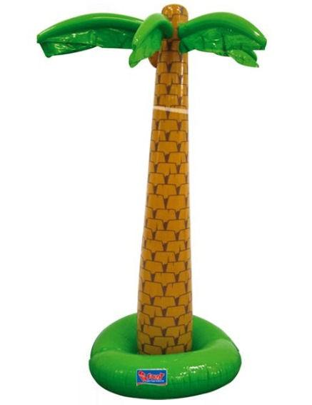 'Aufblasbare Palme' mit 2 Aufblaskammern, ca. 180 cm