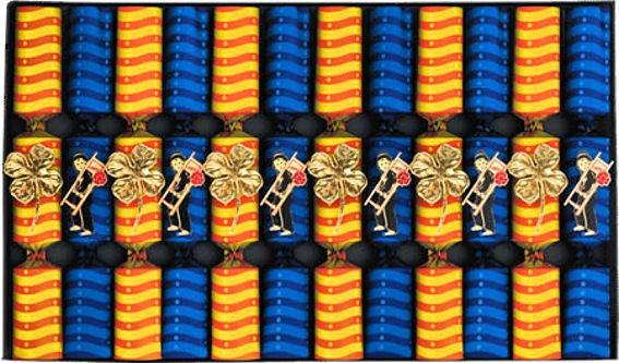 NICO Knallbonbons, 2-fach Sortiert, im 12er-Karton, Maß: ca. 15 cm
